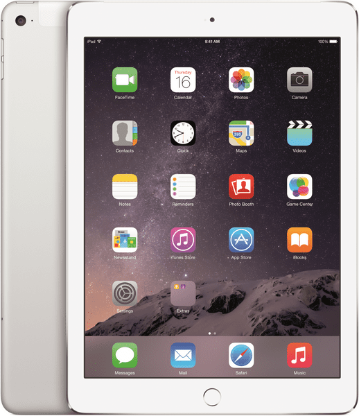 Apple iPad Air 2 Wi-Fi Cellular 32GB Silver (MNVQ2FD/A)