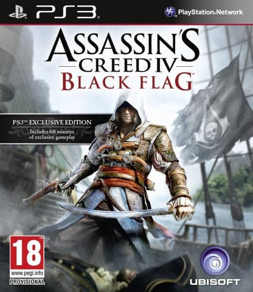 Ubisoft Assassins Creed IV Black Flag (Essentials) CZ / PS3