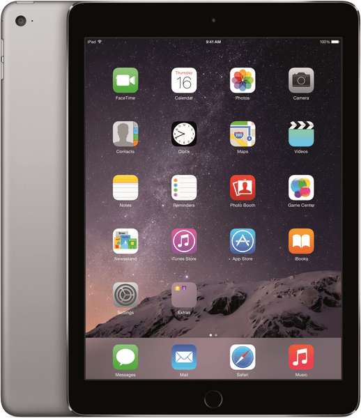 Apple iPad Air 2 Wi-Fi 128GB Space Gray (MGTX2FD/A)