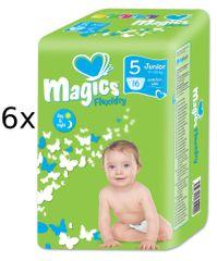 Magics Pieluchy Flexidry Junior (11-25 kg) Megapack - 96 szt.