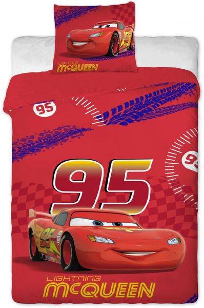 Jerry Fabrics povlečení Cars Mc Queen - II. jakost