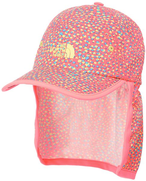 The North Face Youth Party In The Back Hat Fortuna Blue Multi Print/Sugary Pink Os