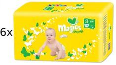 Magics Pieluchy Easysoft Midi (4-9 kg) Megapack - 324 szt.