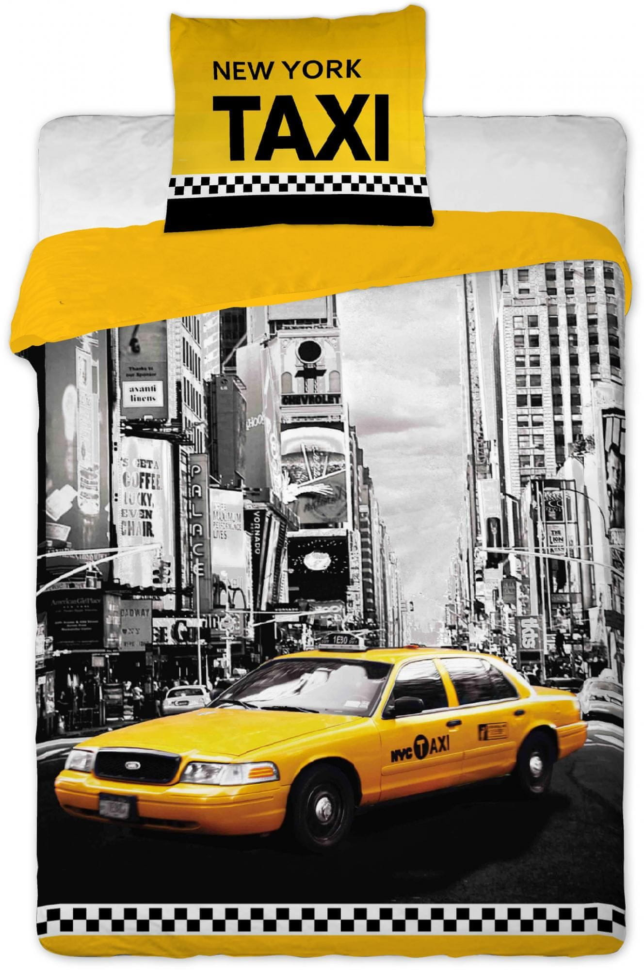 Jerry Fabrics Pościel New York taxi