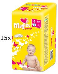 Magics Pieluszki Easysoft Maxi (7-18kg) Multipack - 180 szt.