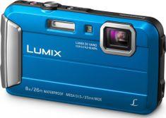 Panasonic Lumix DMC-FT30EP modrá - II. jakost