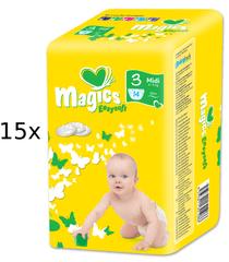 Magics Easysoft Midi (4-9kg) Multipack - 210 ks