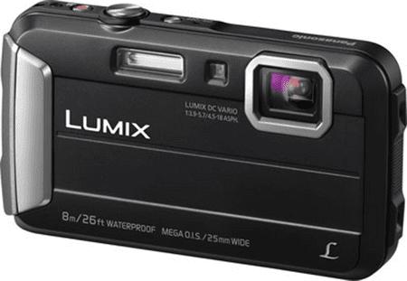 Panasonic digitalni fotoaparat Lumix DMC-FT30, podvodni, črn