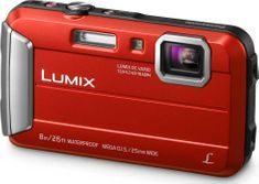 Panasonic Lumix DMC-FT30EP-R (Red)