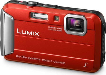 PANASONIC Lumix DMC-FT30, Piros
