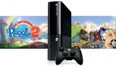 Microsoft XBOX 360 4GB Stingray + Peggle 2