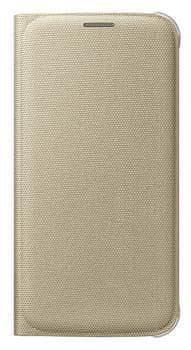 Samsung flipové pouzdro s kapsou, Galaxy S6, zlatá vzor