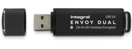 Integral USB ključek 128 GB USB 3.0 Envoy Dual Fips 197 Encrypted