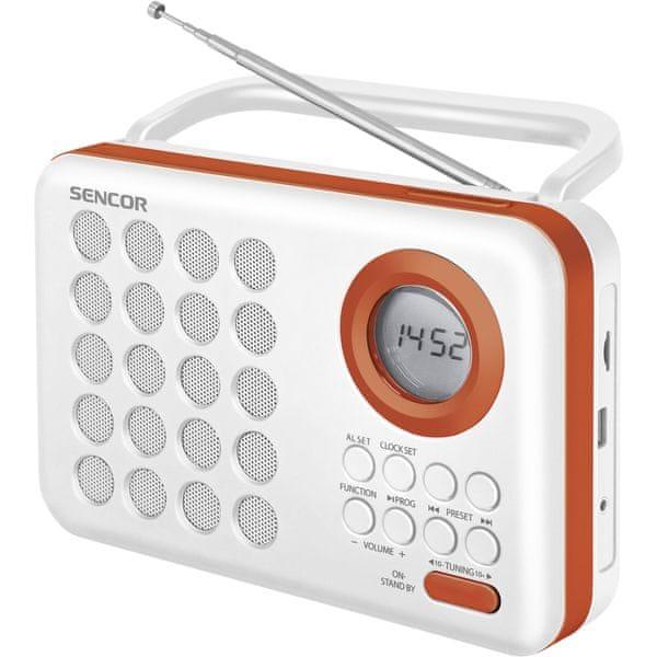 Sencor SRD 220 WOR (White/Orange)