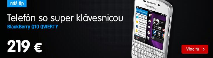 BlackBerry Q10 QWERTY, biela