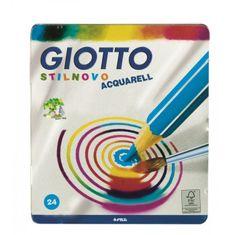 Giotto barvice Stilnovo akvarel, 24/1, ALU škatlica