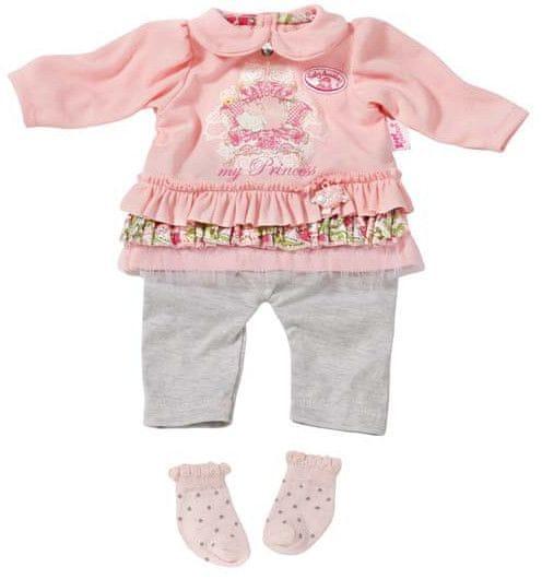 Baby Annabell Oblečení na ramínku - s růžovou blůzou