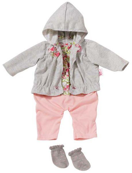 Baby Annabell Oblečení na ramínku - s šedou blůzou