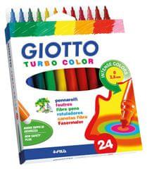 Giotto flomastri Turbo Color, 24/1