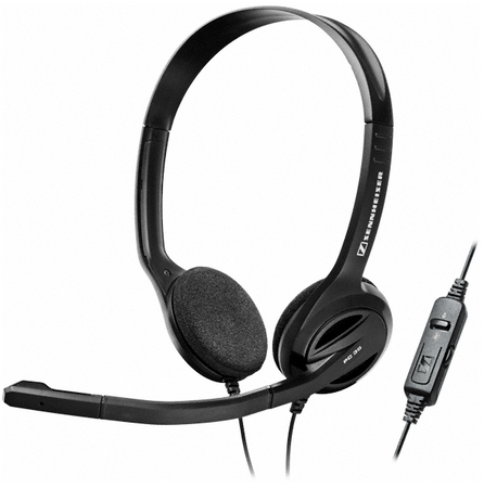 Sennheiser slušalke PC 36 Call controll, USB