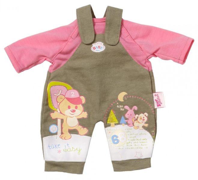 """BABY born Oblečení """"easy FIT"""" khaki"""