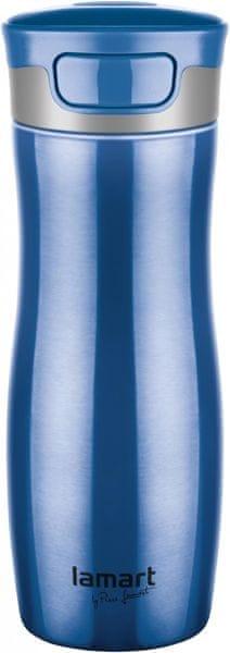 Lamart Termoska Conti 0,48 litru, modrá