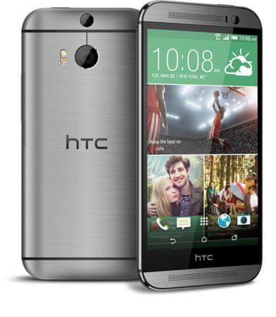 HTC GSM telefon ONE M8S, siv
