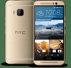 HTC ONE M9, komplet zlatý