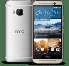 HTC ONE M9, zlato-stříbrná