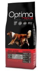 Optima NOVA Dog Adult Active Kutyatáp, 12 kg