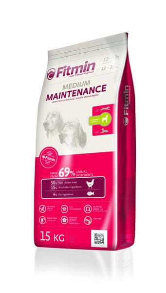 Fitmin Medium Maintenance 15 kg + 2 kg Zdarma