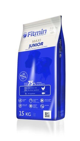 Fitmin Maxi Junior 15 kg + 2 kg Zdarma