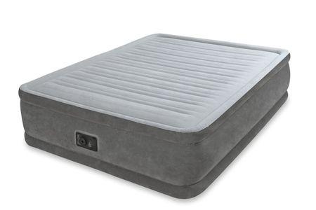 Intex napihljiva postelja Queen Comfort - plush elevated airbed kit (w/220-240V, z vgrajeno črpalko)