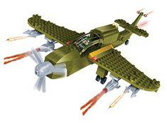 BanBao Stavebnice Defence Force bitevní letadlo