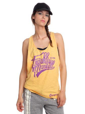Franklin&Marshall TOWVA561N S sárga