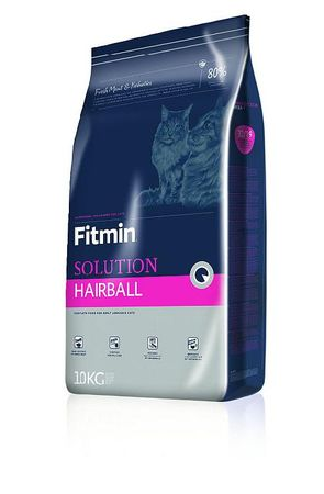Fitmin Solution Hairball hrana za mačke, 10 kg