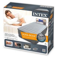 Intex krevet na napuhavanje Twin Comfort - plush elevated airbed kit (w/220-240V, sa ugrađenom pumpom)