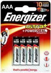 Energizer AAA 4ks Ultra+