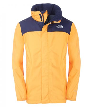The North Face B Resolve Reflective Jacket Koi Orange XL