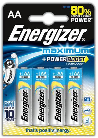 Energizer AA 4ks Maximum