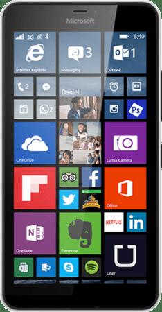 Microsoft Lumia 640 XL LTE, černý