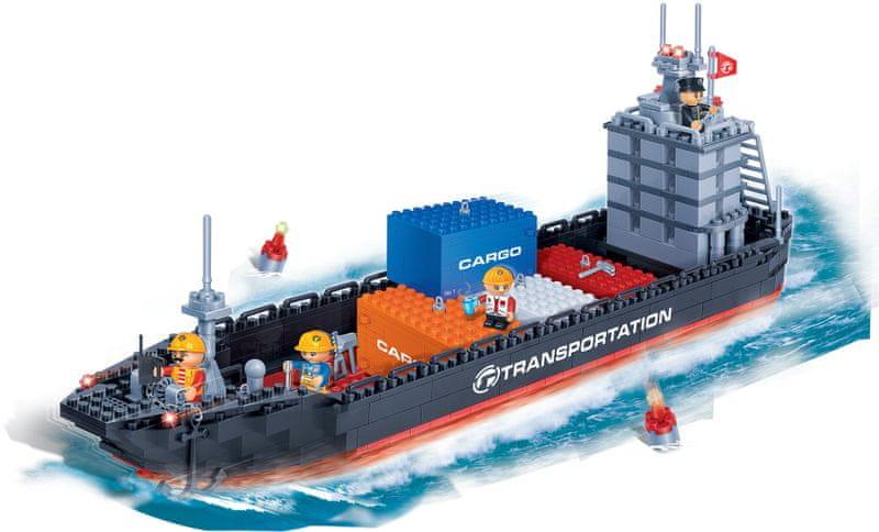 BanBao Stavebnice Transportation nákladní loď