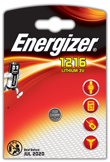 Energizer CR1216 1ks Lithium