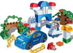 BanBao Stavebnice Police Young Ones dopravní policie