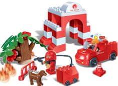 BanBao Stavebnice Fire Young Ones hasičské depo