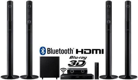 SAMSUNG HT-J5550W 5.1-es 3D Smart Blu-ray Házimozi rendszer
