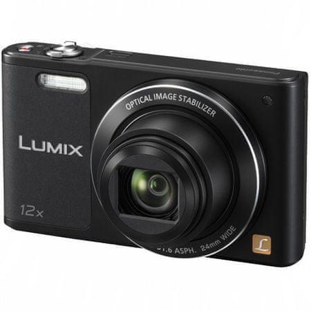 PANASONIC Lumix DMC-SZ10EP-K Digitális fényképezőgép, Fekete