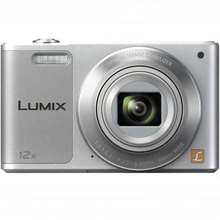 PANASONIC Lumix DMC-SZ10EP-S Digitális fényképezőgép, Ezüst