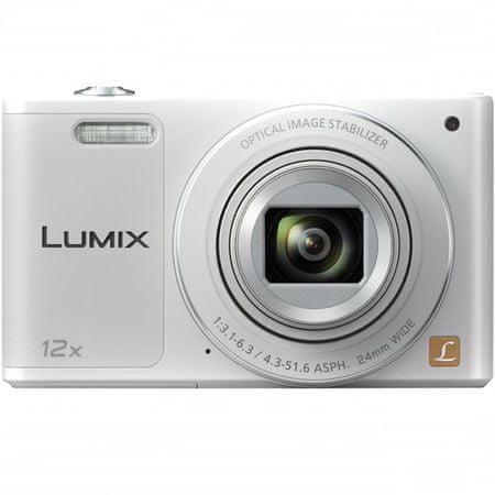 PANASONIC Lumix DMC-SZ10EP-W Digitális fényképezőgép, Fehér