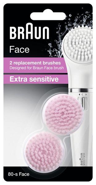 Braun Náhradní kartáček Face 80S Sensitive